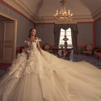 Luxury Wedding Dress Nyc Julia Kontogruni Couture Noto 23