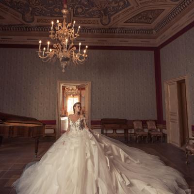 Luxury Wedding Dress Nyc Julia Kontogruni Couture Noto 24