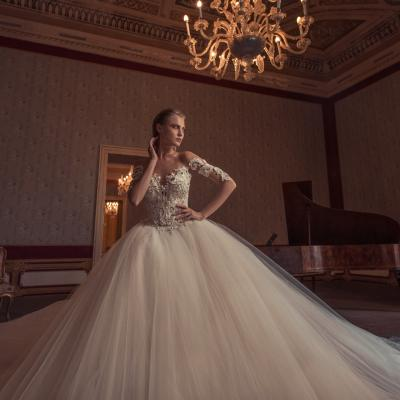 Luxury Wedding Dress Nyc Julia Kontogruni Couture Noto 25