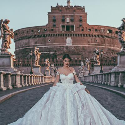 Luxury Wedding Dress Nyc Julia Kontogruni Couture Rome 01