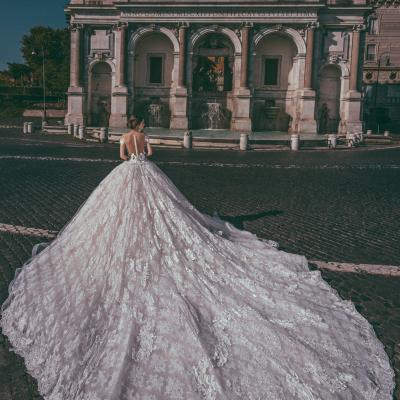 Luxury Wedding Dress Nyc Julia Kontogruni Couture Rome 03