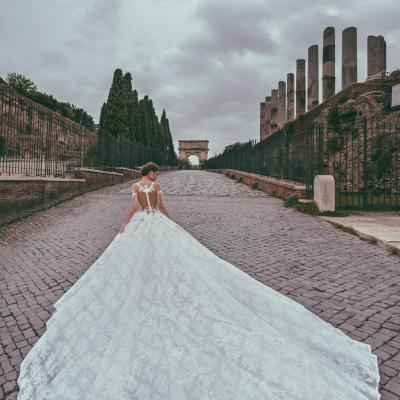 Luxury Wedding Dress Nyc Julia Kontogruni Couture Rome 05