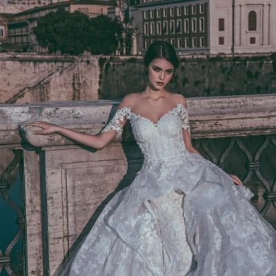 Luxury Wedding Dress Nyc Julia Kontogruni Couture Rome 08