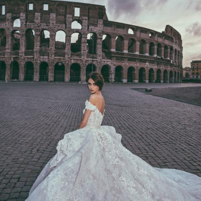 Luxury Wedding Dress Nyc Julia Kontogruni Couture Rome 09