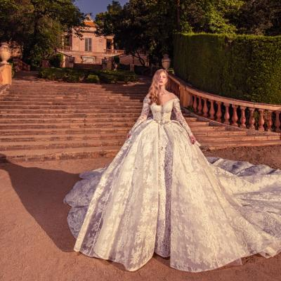 Luxury Wedding Dress Julia Kontogruni Exclusive 5