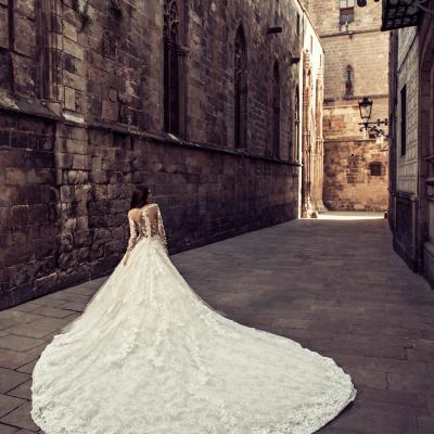 Luxury Wedding Dress Julia Kontogruni Nyc Barcelona 43