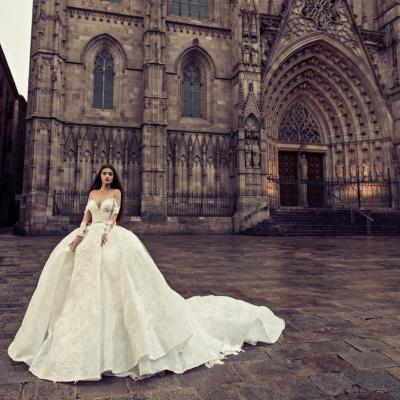 Luxury Wedding Dress Julia Kontogruni Nyc Barcelona 53