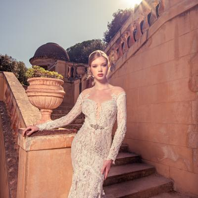 Luxury Wedding Dress New York Julia Kontogruni Labirinto De Horta Barcelona 26