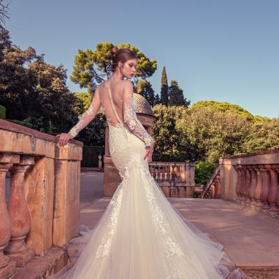 Luxury Wedding Dress New York Julia Kontogruni Labirinto De Horta Barcelona 28