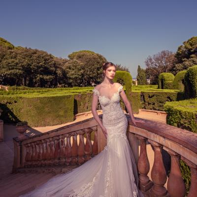 Luxury Wedding Dress New York Julia Kontogruni Labirinto De Horta Barcelona 40