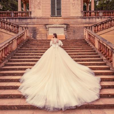 Luxury Wedding Dress New York Julia Kontogruni Labirinto De Horta Barcelona 58