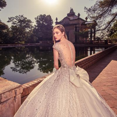 Luxury Wedding Dress New York Julia Kontogruni Labirinto De Horta Barcelona 59