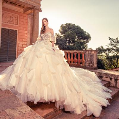 Luxury Wedding Dress New York Julia Kontogruni Labirinto De Horta Barcelona 61