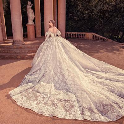 Luxury Wedding Dress New York Julia Kontogruni Labirinto De Horta Barcelona 63