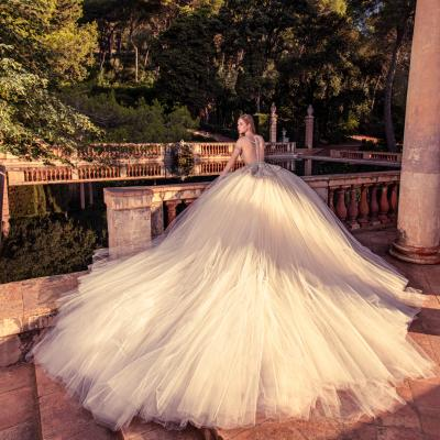 Luxury Wedding Dress New York Julia Kontogruni Labirinto De Horta Barcelona 64