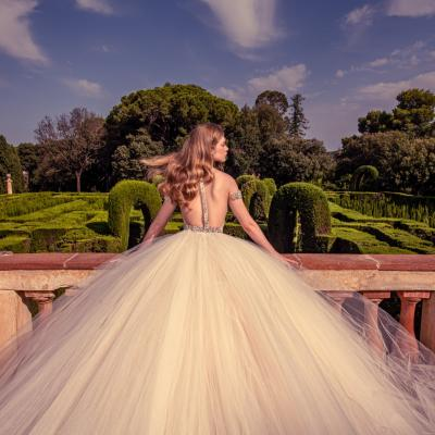 Luxury Wedding Dress New York Julia Kontogruni Labirinto De Horta Barcelona 65