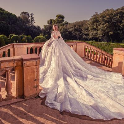 Luxury Wedding Dress New York Julia Kontogruni Labirinto De Horta Barcelona 66