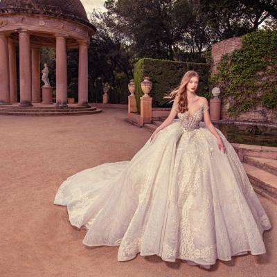Luxury Wedding Dress New York Julia Kontogruni Labirinto De Horta Barcelona 67