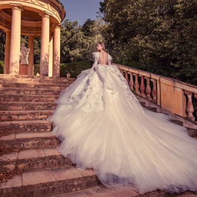 Luxury Wedding Dress New York Julia Kontogruni Labirinto De Horta Barcelona 68
